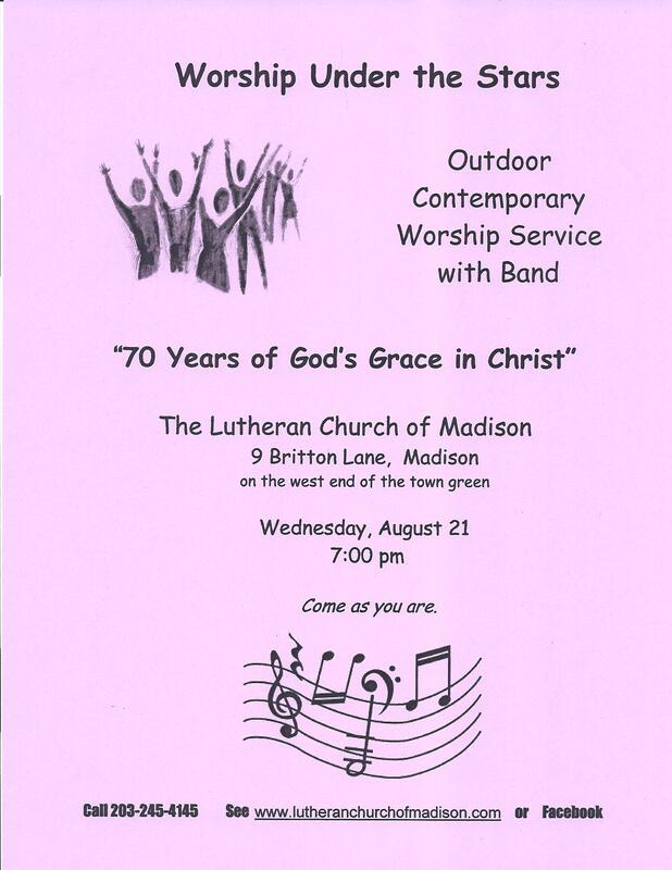Lutheran Church Of Madison - Welcome